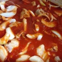 トマト煮〜