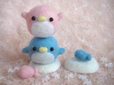 羊毛フェルトペンギン