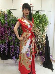 Kimono remake dress ALIANSA