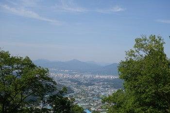 南漢山城 山の景色2