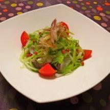 コノシロのサラダとヤ…