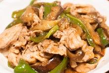 豚肉と茄子の味噌炒め。