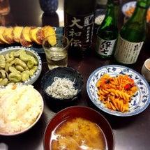 平和な晩ご飯
