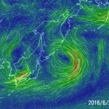 西日本 非常に激しい…
