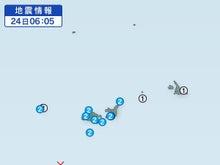 与那国島の地震