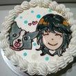 似顔絵ケーキで嬉しい…