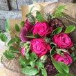 大人カラーの花束