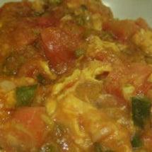 トマトと玉子の炒め物