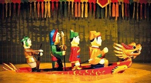 ベトナム ハノイ 水上人形劇