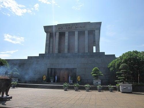 ベトナム ハノイ ホーチミン廟
