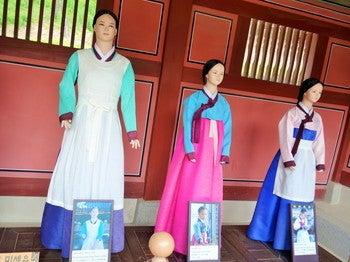 華城行宮 展示物 チャングム1