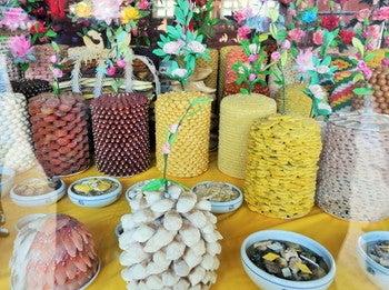華城行宮 展示物 食べ物