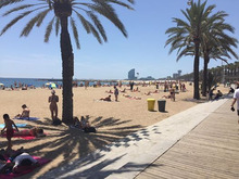 バルセロナのランチ1