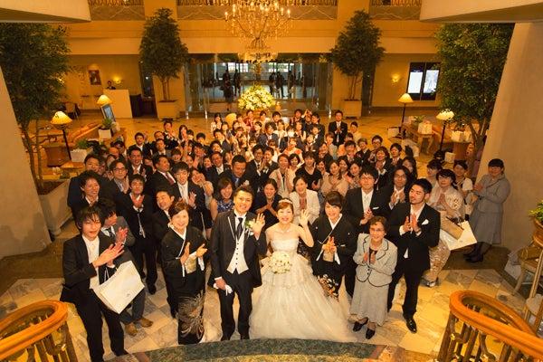 横浜ロイヤルパークホテル 結婚式 集合写真