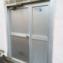 アルミ框ドア 本体の…