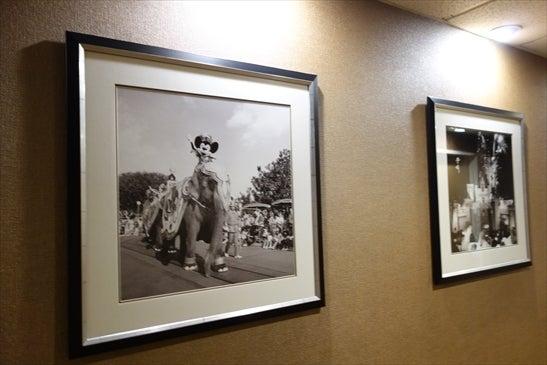廊下に昔の写真 その1