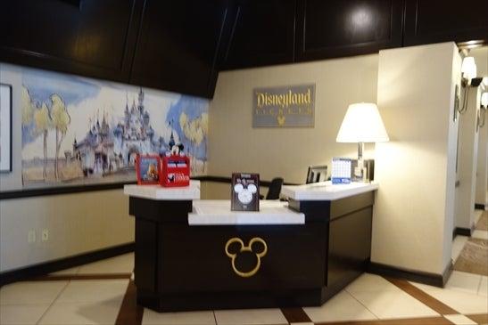 ディズニーのカウンター