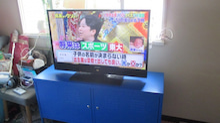 テレビを乗せる