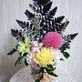 花器つきのプリザーブ…