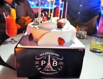 パリバケット 誕生日ケーキ
