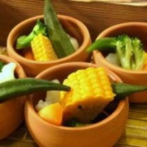結婚式場の野菜多めラ…