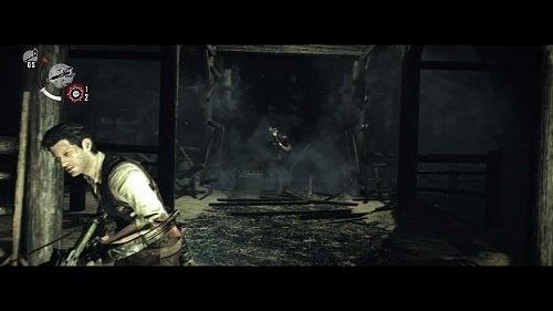 PS4 サイコブレイク チェーンソー男画像