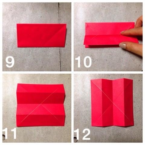 ハート 折り紙 折り紙 立体 バラ : ameblo.jp