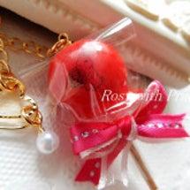 ☆ レジンのりんご飴…