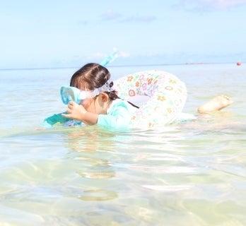 子連れ グアム タモンビーチ 砂浜 キレイ