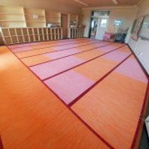 オレンジ&ピーチの畳…