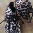 豹柄の小さな靴☆