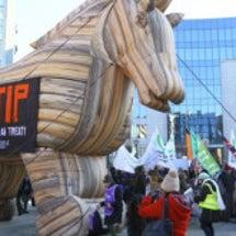 """TTIPは""""経済NA…"""