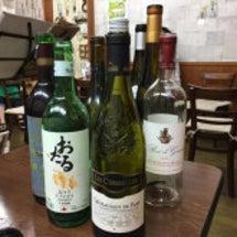 持ち寄りワイン会…い…