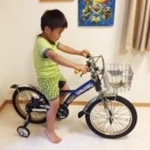 隊長の自転車♪