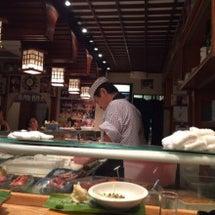 ディナーの後のお寿司…