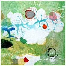 『the dream of grape』木版画2008 700