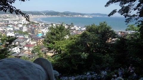 長谷寺の海