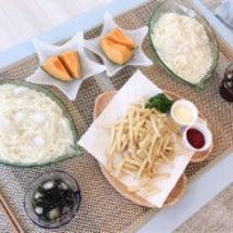 お昼、夜♪(*^^)…