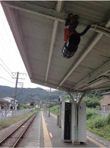 沢井駅ホーム
