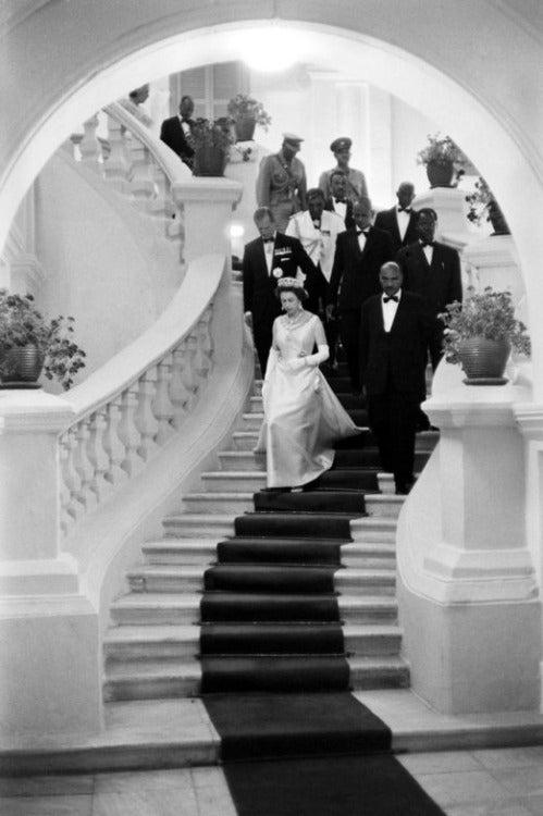 Queen Elizabeth in Ethiopia 1965