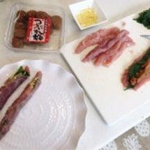 夕飯準備♪(*^^)…