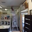 事務所改修工事開始