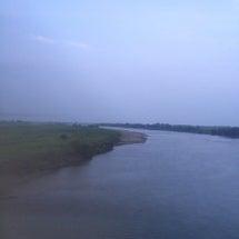 日が沈む前の大河