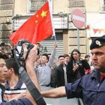 イタリアを汚す中国人…