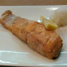 時鮭の塩焼き