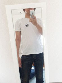 milkcat2828ロゴTシャツ04