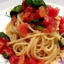 トマトとバジルの冷製…