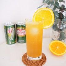オレンジ香るカクテル…