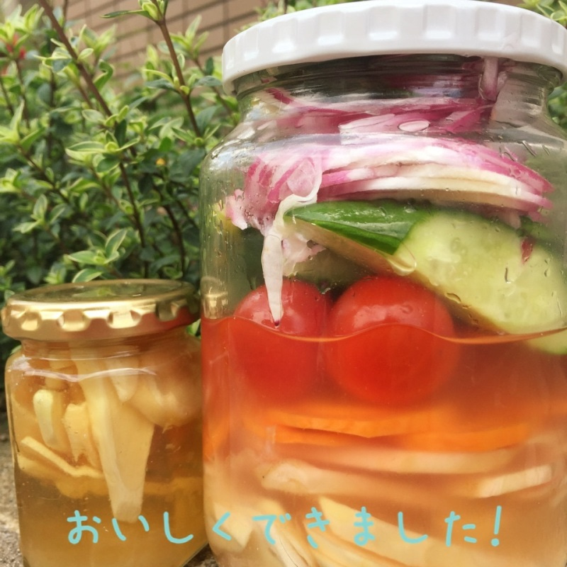 夏野菜のピクルス