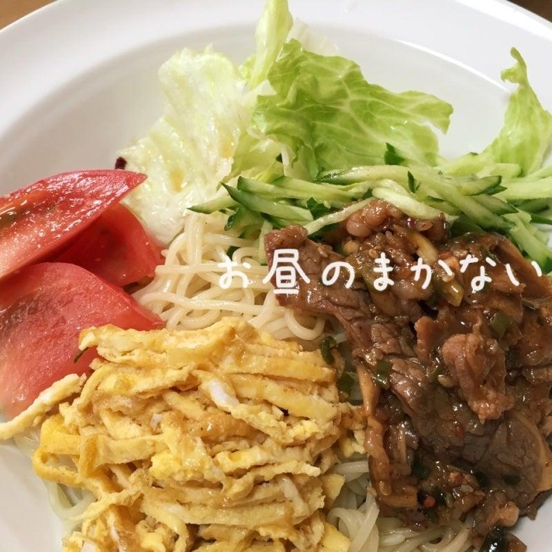 お昼のまかない プルコギ冷麺